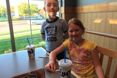 Culvers Night Hensler Family